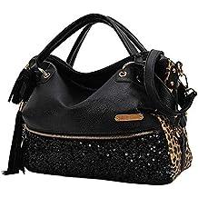 Chikencall® Borsa stampa leopardo Borse a spalla Hobo Style Borsa a  tracolla in pelle PU f253d0d1859