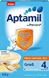 lait Aptamil bouillie de céréales Semoule - de 4.Monat, 250g