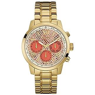 Guess Ladies 'watch analógico cuarzo acero inoxidable w0330l11