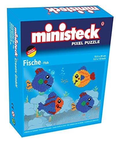 Ministeck 32552 - Minibox Pescado, tableros, Piedras y Accesorios