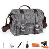 K&F Concept Kameratasche Messenger Tasche Fototasche Umhängetasche für eine...