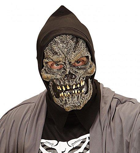 Gruselige Latexmaske Grim Reaper mit -