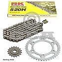 Kettensatz Honda NSR 125 96-03, Kette RK 520H 108, offen, 14/35