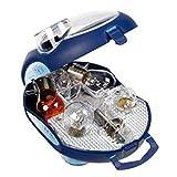 OSRAM ORIGINAL Ersatzlampenbox H1, Halogen-Scheinwerferlampen, 12V PKW, CLKM H1, vollständiges Ersatzlampen-Set (1 Stück)