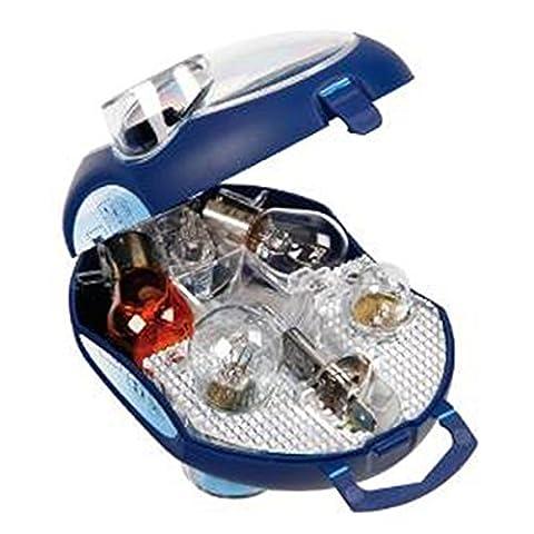 OSRAM ORIGINAL Ersatzlampenbox H1, Halogen-Scheinwerferlampen, 12V PKW, CLKM H1, vollständiges Ersatzlampen-Set (1
