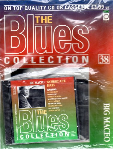 THE BLUES COLLECTION Magazine Issue 38 BIG MACEO