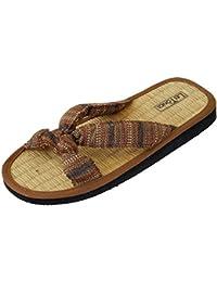 Japanwelt Zimtlatschen JUNCUS-K | Zimt Sandalen mit Zimtsohle, vegan und ideal für den Sommer | Die beliebten Les Tongs Zimt Schuhe aus Vietnam