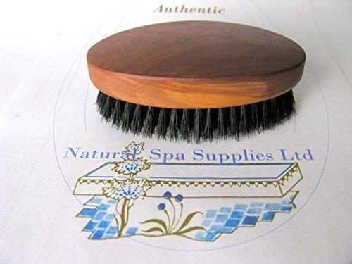 Natural Spa Fournitures Style militaire pour homme Brosse à cheveux