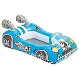 Lively Moments Aufblasboot / Babyboot / Babypool / Schwimmboot für Kinder bis 27 kg in Form Eines Auto
