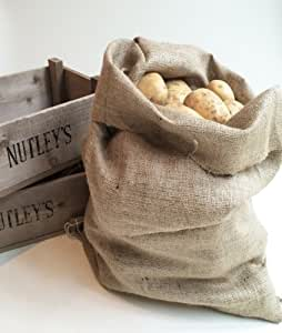 Nutley's 50 x 80cm Large Hessian Potato and Vegetable Sack