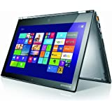 Lenovo YOGA 2 Pro 13.3-inch QHD+ (3200 x 1800) Convertible Touchscreen Laptop (Intel Core i7-4510U 3.1 GHz, 8GB DDRIIIL RAM, 256GB SSD, Integrated Graphics, HDMI, Webcam, Bluetooth, Wi-Fi, Voice control, Windows 8.1) - Silver