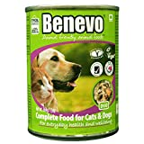 Benevo Bio Hundefutter Duo Veganes Feuchtfutter, 6er Pack (6 x 369 g)