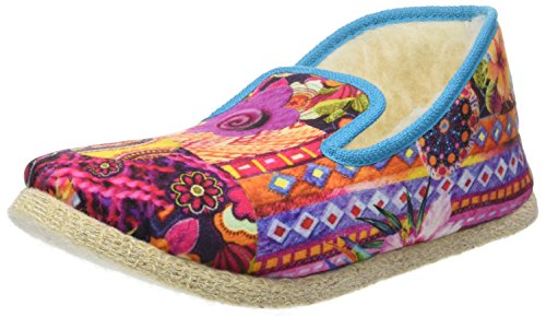 Rondinaud crau, Chaussons Bas Femme Multicolore (Multicolore)