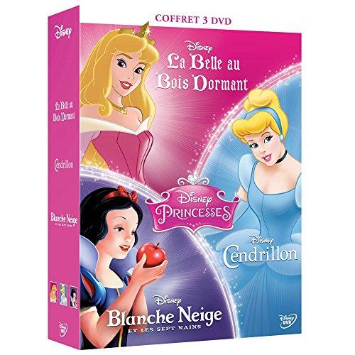Disney Princesses : La Belle Au Bois Dormant - Cendrillon - Blanche Neige Et Les Sept Nains / COFFRET 3 DVD