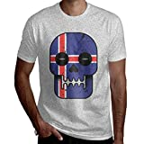 Funny Novelty Iceland Till I Die Men's Short Sleeve T-Shirt Tee Birthday, Christmas Or Gift for Commemoration Day