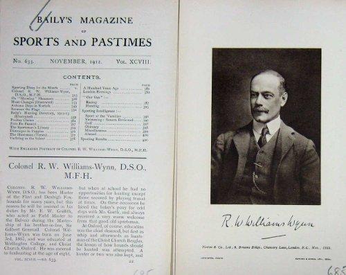 colonnello-antico-rw-williams-wynn-mfh-del-ritratto-1912