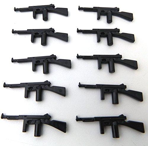 modbrix-74204-10-x-thomson-m1-maschinengewehr-custom-waffen-set-fur-lego-figuren