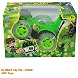 VBE 3D Wireless Rechargeable Ben 10 Plastic Stunt Car With Remote Control (Green)