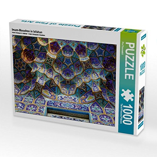 Imam-Moschee in Isfahan 1000 Teile Puzzle quer (CALVENDO Orte)