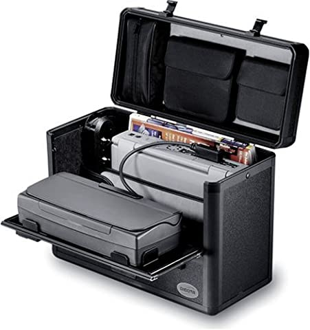 Dicota DataBox Aluprofile Notebooktasche für 38,4 cm (15,1 Zoll), grau