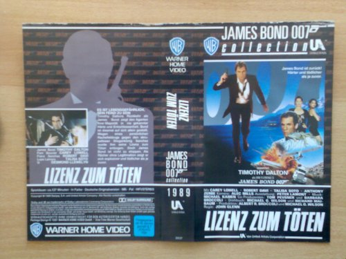 Bild von James Bond 007 - Lizenz zum Töten WB