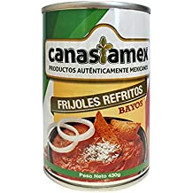 FRIJOL BAYO REFRITO O ALUBIAS 430g - CANASTAMEX