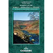 Walking in the Forest of Bowland and Pendle: 40 Walks in Lancashire's Area of Natural Beauty (Cicerone Walking Guides) by Terry Marsh (2008-03-27)