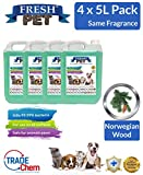 Best Pet Kennels - Trade Chemicals 4 X 5L FRESH PET Kennel/Cattery Review