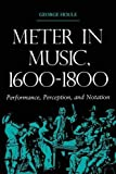 Meter in Music, 1600 1800: Performance, Perception, and Notation (Music--Scholarship and Performance)