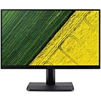 Acer 21.5 inch (55 cm) Monitor - IPS Full HD, VGA, HDMI Port, Zero Frame Design - ET221Q (Black)