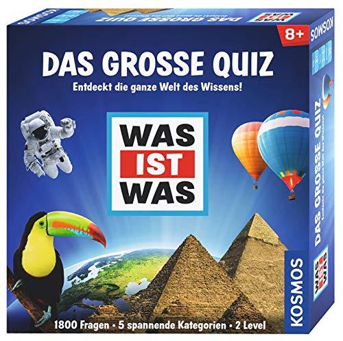 KOSMOS Spiele 697891 - WAS IST WAS - Das große Quiz (Große Spiele)