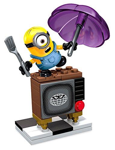 mattel cnf49 megabloks minion movie silly tv cnf47