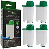 4 x FilterLogic CFL-902B - cartuccia filtrante / filtro acqua compatibile con Saeco BRITA Intenza+ CA6702/00 - per macchina da caffè Saeco / Philips / Gaggia