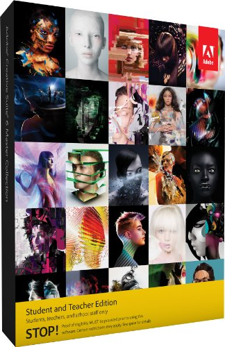 Adobe Creative Suite 6 Master Collection Student and Teacher* - 7 Suite Creative