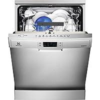 Electrolux ESF5535LOX Independiente 13cubiertos A+++ lavavajilla - Lavavajillas (Independiente, Acero inoxidable, Tamaño completo (60 cm), Gris, Botones, LCD)