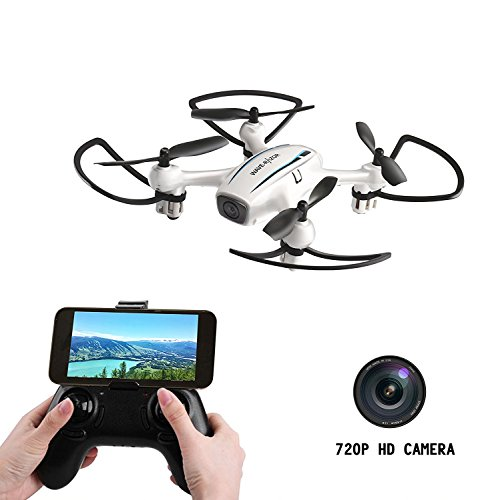 Cellstar Drone con cámara y pantalla 720P HD, 3D Flips Beginner Drone, FPV Quadcopter Racing y Fighting Drone, helicóptero teledirigido Drone Child, Anti-Vibración + modo sin cabeza + Altitude Hold + cámara Perspective Angulo 120 ° + cámara Rotación de 360 grados + Regreso al punto programado / Video de Drone【https://www.youtube.com/watch?v=LK3KrQwNnJ8】
