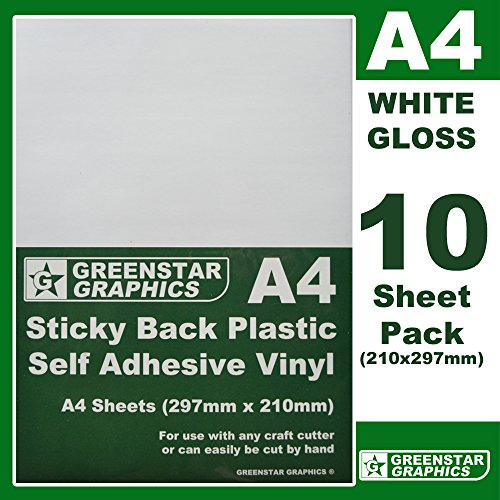 greenstar-graphics-r-10-sheet-pack-white-gloss-a4-sticky-back-plastic-self-adhesive-vinyl-use-with-s