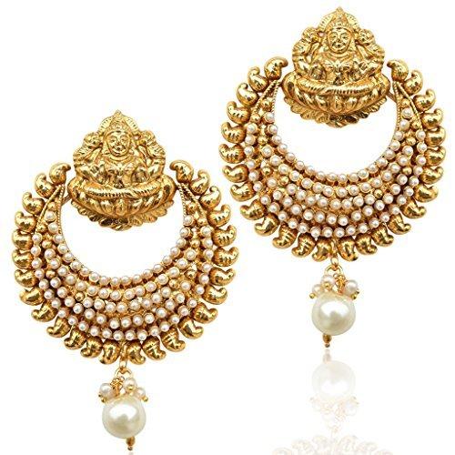 adiva-womens-ram-leela-inspi-goddess-lakshmi-india-faux-pearl-ethnic-earring-white