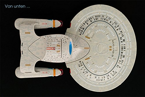 Star Trek Diecast Modell Starships Collection (USS Enterprise NCC-1701-D) - 3