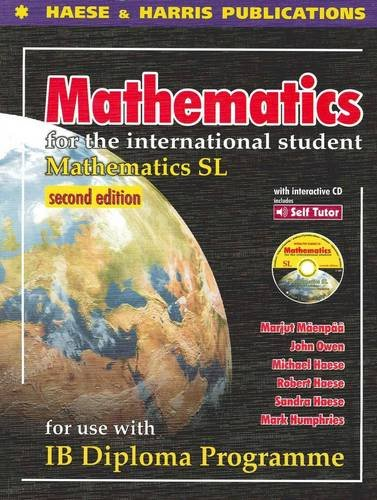 Mathematics for the International Student-IB Diplo...