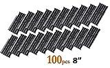 100x kit di riparazione pneumatici strisce da 20,3cm per auto furgone bici