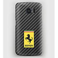 Case Cover Schutzhülle für Samsung S3, S4, S5, S6, S7, S8, A3, A5, A7, J3, Carbon & Ferrari