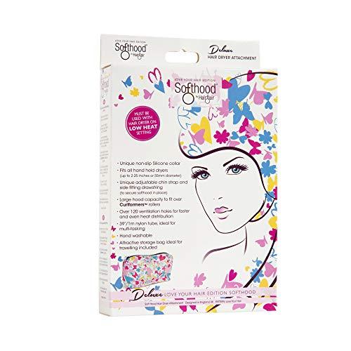Hair Flair Softhood - cuffia gonfiabile per asciugacapelli - Love Your Hair Butterfly