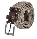 Il design della cintura Elastica è studiato per un comodo uso quotidiano che ti fa sentire alla moda e confortevole, il materiale puro e il processo definito rendono ogni articolo affidabile e resistente.  La cintura uomo realizzata in tessuto elast...