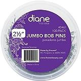 Diane Jumbo Bob Pins, Bronze 100 ea (Pack of 6)