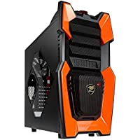 Cougar Challenger Arancione PC MIDI Tower di gomma