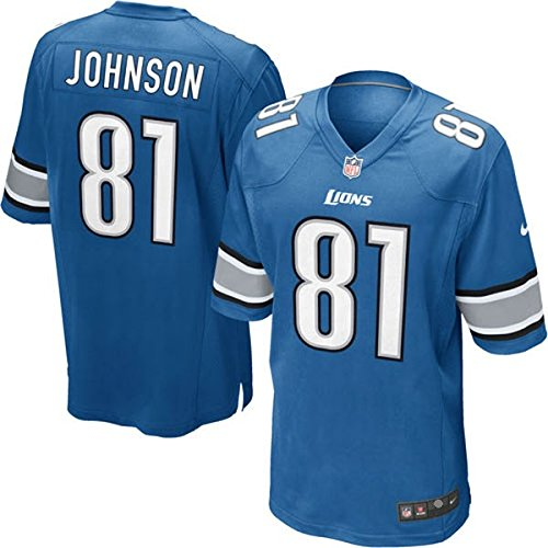Nike NFL Detroit Lions Calvin Johnson Youth on-Field Jersey Größe XL