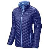 Mountain Hardwear Nitrous Down–Giacca da Donna, Donna, Nitrous Down Jacket, Nectar Blue