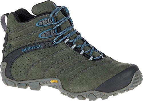 Merrell Chameleon Guide J09377 Herren Schuhe Sneakers Wildleder Wanderschuhe SCHWARZ (44) (Herren Schuhe-chameleon Merrell)