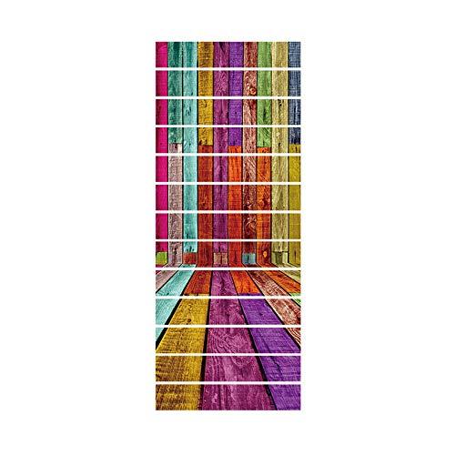 way Aufkleber Zimmer Im Freien Landschaft Treppen Aufkleber Boden Wanddekor Aufkleber Aufkleber Wohnzimmer Dekoration ()